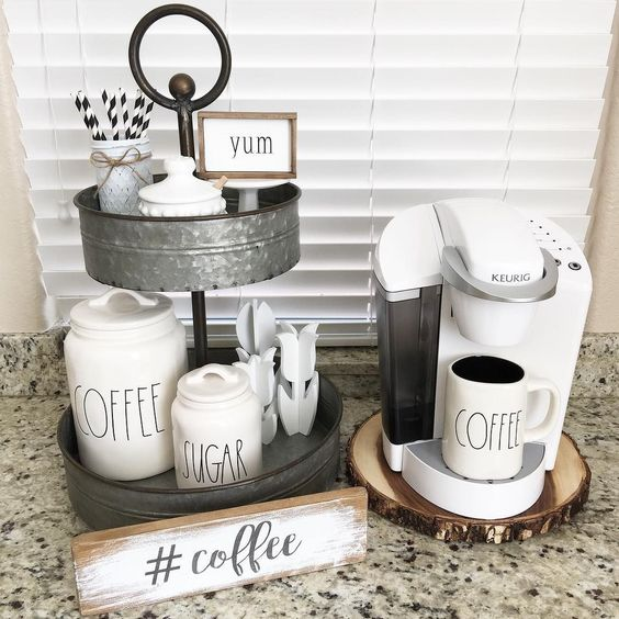 12 Diy Coffee Station Ideas For Your Dorm Or Apartment Raising Teens Today